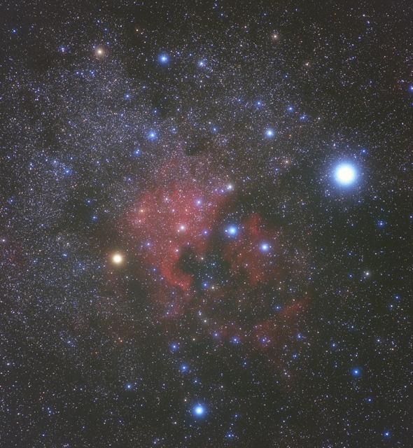 ファンタジーな北アメリカ星雲