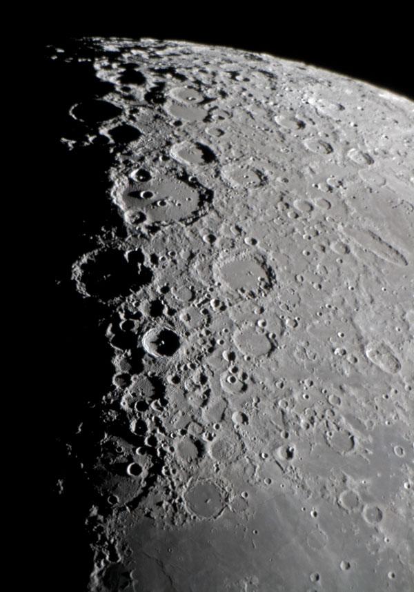 月面南部 | 天体写真の世界 : 月齢 : すべての講義