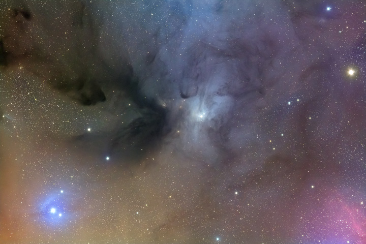 IC4603: Reflection Nebula in Ophiuchius