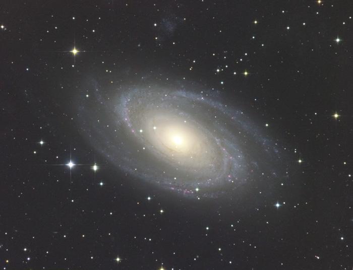 おおぐま座のM81渦巻銀河 | 天体...